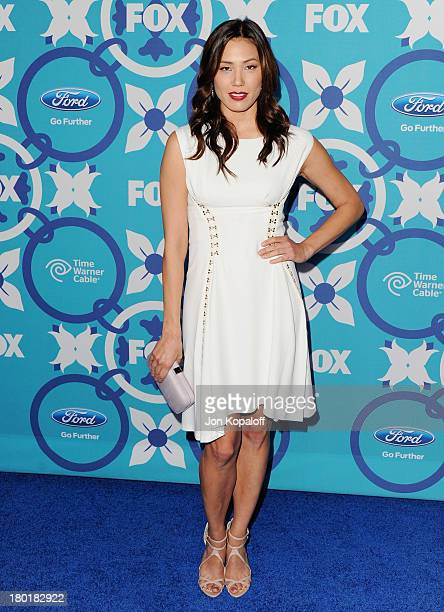 Actress Michaela Conlin arrives at the 2013 Fox Fall EcoCasino Party at The Bungalow on September 9 2013 in Santa Monica California