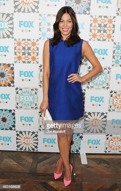 Actress Michaela Conlin arrives at the FOX AllStar Party 2014 Television Critics Association Summer Press Tour at Soho House on July 20 2014 in West...