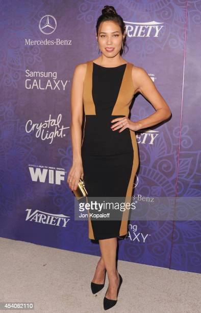 Actress Michaela Conlin arrives at Variety And Women In Film Annual PreEmmy Celebration at Gracias Madre on August 23 2014 in West Hollywood...
