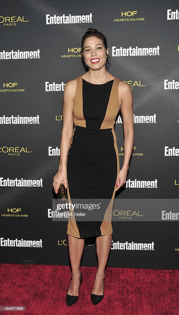 Actress Michaela Conlin attends Entertainment Weekly's Pre-Emmy Party at Fig & Olive on Melrose Place on August 23, 2014 in West Hollywood, California.