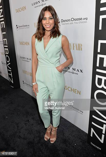 Actress Michaela Conlin attends The Annie Leibovitz SUMOSize Book Launch presented by Vanity Fair Leon Max and Benedikt Taschen during Vanity Fair...
