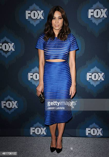 Actress Michaela Conlin attends the FOX winter TCA AllStar party at Langham Hotel on January 17 2015 in Pasadena California