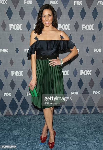 Actress Michaela Conlin attends the Winter TCA Tour FOX Winter TCA 2016 AllStar Party at the Langham Huntington Hotel on January 15 2016 in Pasadena...