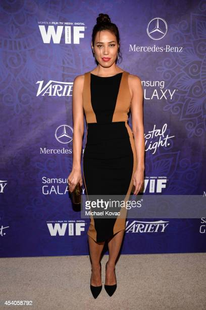 Actress Michaela Conlin attends Variety and Women in Film Emmy Nominee Celebration powered by Samsung Galaxy on August 23 2014 in West Hollywood...