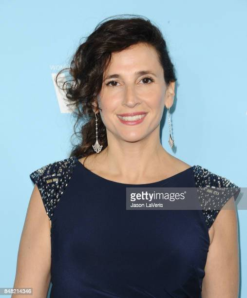 Actress Michaela Watkins attends Variety and Women In Film's 2017 preEmmy celebration at Gracias Madre on September 15 2017 in West Hollywood...