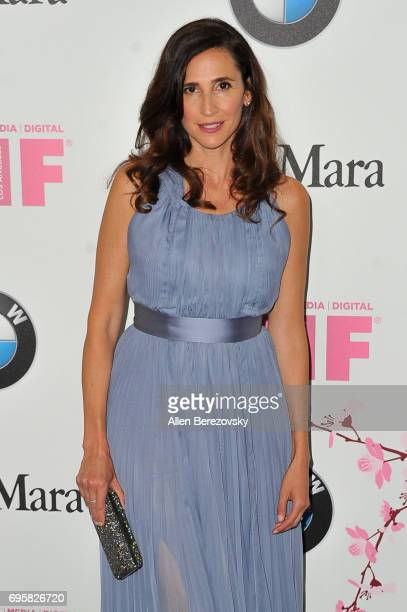 Actress Michaela Watkins attends Women In Film 2017 Crystal Lucy Awards Presented By Max Mara And BMW at The Beverly Hilton Hotel on June 13 2017 in...