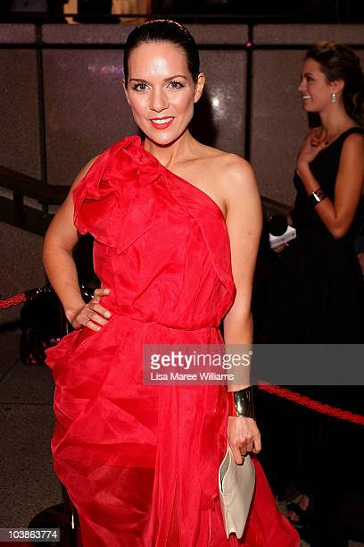 Actress Michala Bana arrives at the 2010 Helpmann Awards at the Sydney Opera House on September 6 2010 in Sydney Australia