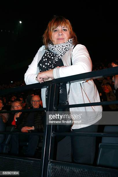 Actress Michele Bernier attends Michel Polnareff performs at AccorHotels Arena Bercy Day 4 on May 11 2016 in Paris
