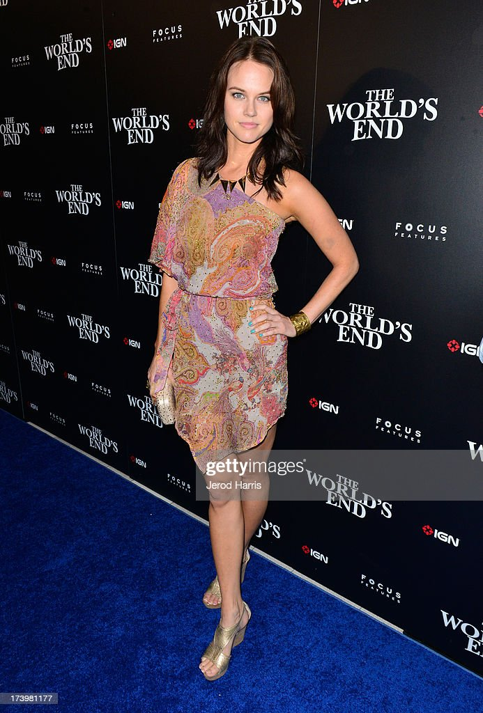 Actress <a gi-track='captionPersonalityLinkClicked' href=/galleries/search?phrase=Michele+Boyd&family=editorial&specificpeople=4956303 ng-click='$event.stopPropagation()'>Michele Boyd</a> attends IGN And Focus Features Comic-Con 2013 Party Presented By The World's End at Float at Hard Rock Hotel San Diego on July 18, 2013 in San Diego, California.