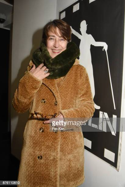 Actress Michele Garcia attends 'Cours Charlie Courts' Short Movies Festival at Cinema Chaplin Saint Lambert on November 18 2017 in Paris France