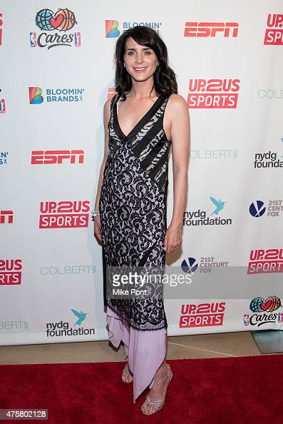 Actress Michele Hicks attends the Up2Us Sports Gala at IAC Building on June 3 2015 in New York City
