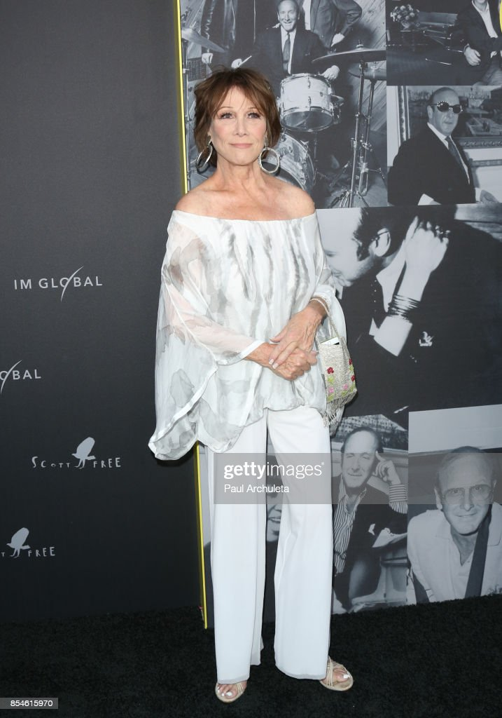 Actress Michele Lee attends the premiere of Apple Music's 'Clive Davis: The Soundtrack Of Our Lives' at Pacific Design Center on September 26, 2017 in West Hollywood, California.