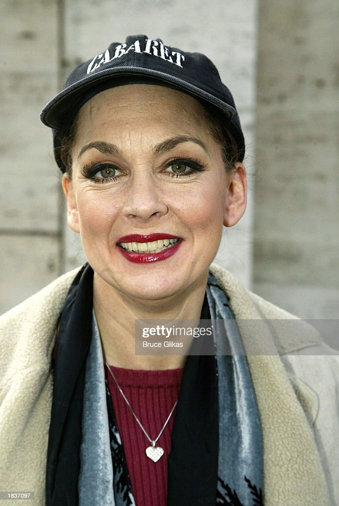 Actress Michele Pawk, who plays 'Countess Charlotte' in the New York City Opera's production of Stephen Sondheim's 'A Little Night Music', poses after the opening weekend at The New York State Theater at the Lincoln Center on March 8, 2003 in New York City.