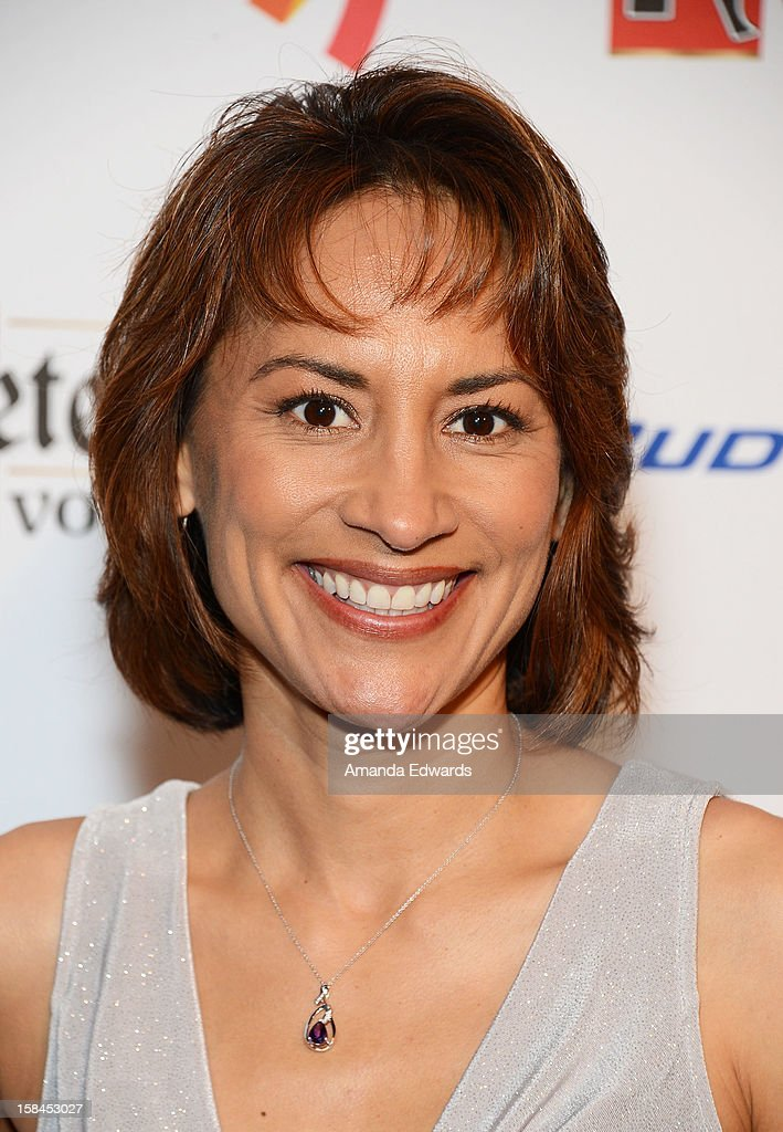 Actress Michelle Bonilla arrives at the GLAAD Tidings Annual Holiday Celebration at The London Hotel on December 16, 2012 in West Hollywood, California.