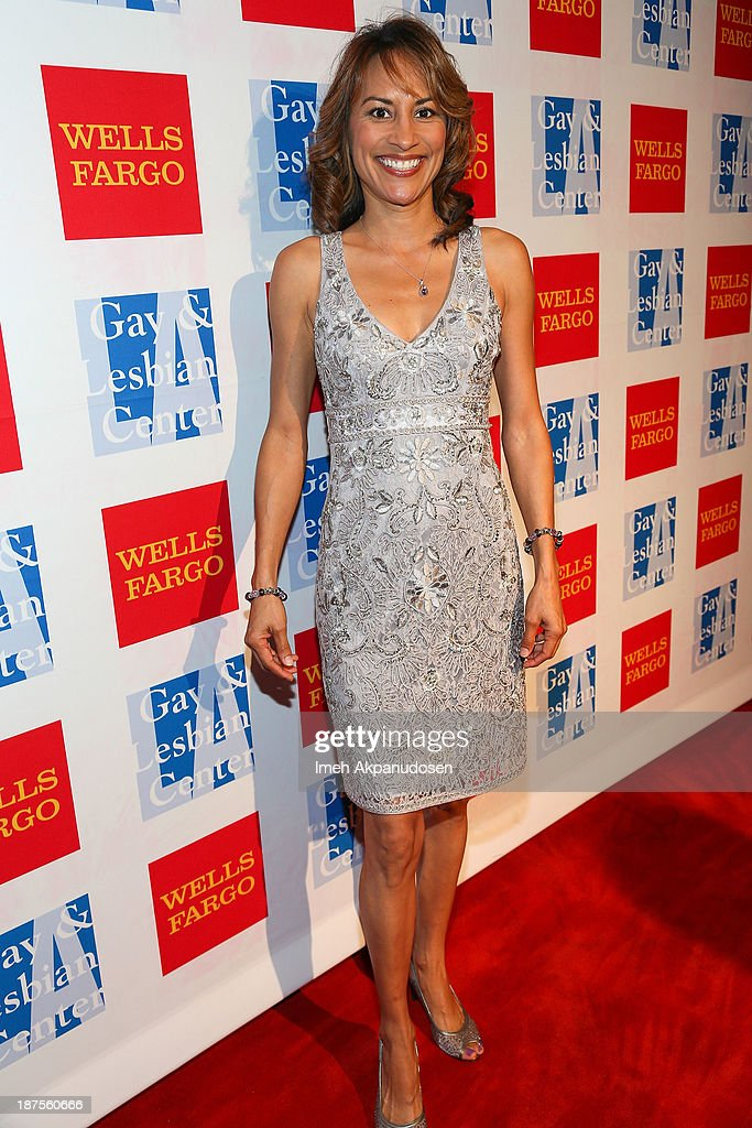 Actress Michelle Bonilla attends the L.A. Gay & Lesbian Center's 42nd Anniversary Vanguard Awards Gala at Westin Bonaventure Hotel on November 9, 2013 in Los Angeles, California.