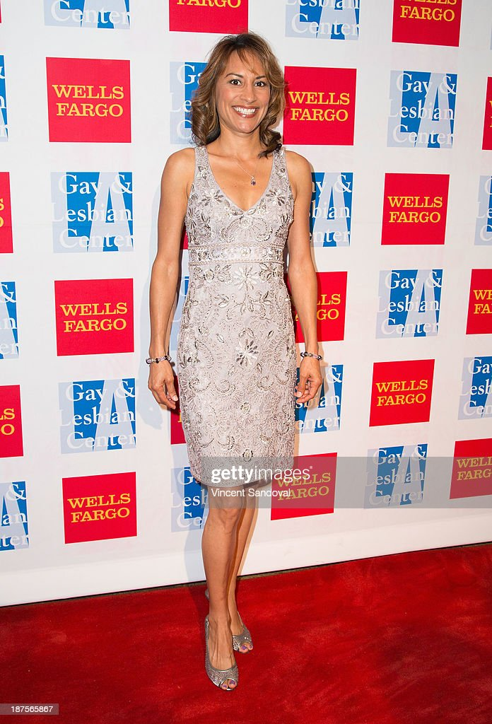 Actress Michelle Bonilla attends the L.A. Gay & Lesbian Center's 42nd anniversary Vanguard Awards Gala - Arrivals at Westin Bonaventure Hotel on November 9, 2013 in Los Angeles, California.