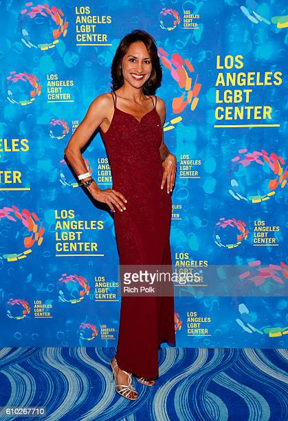 Actress Michelle Bonilla attends the Los Angeles LGBT Center 47th Anniversary Gala Vanguard Awards at Pacific Design Center on September 24 2016 in...