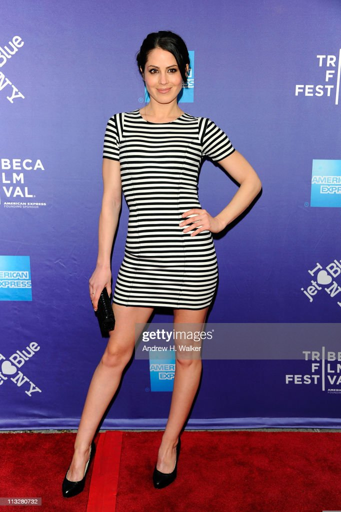 Actress Michelle Borth attends the premiere of 'A Good Old Fashioned Orgy' during the 2011 Tribeca Film Festival at SVA Theater on April 29, 2011 in New York City.