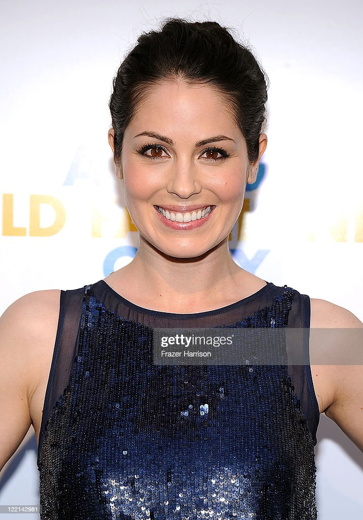 Actress Michelle Borth attends the screening of Samuel Goldwyn Films' 'A Good Old Fashioned Orgy' at Arclight Cinemas on August 25 2011 in Los...