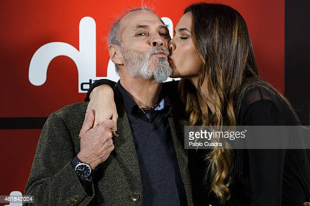 Actress Michelle Calvo and her father Ramon Calvo attend the 'Dias de Cine' awards ceremony at the 'Cineteca' on January 20 2015 in Madrid Spain
