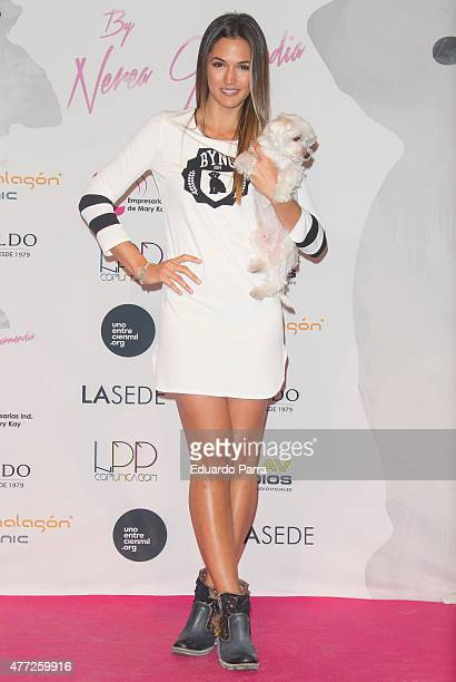 Actress Michelle Calvo attends 'By Nerea' 1st Anniversary photocall at COAM on June 15 2015 in Madrid Spain