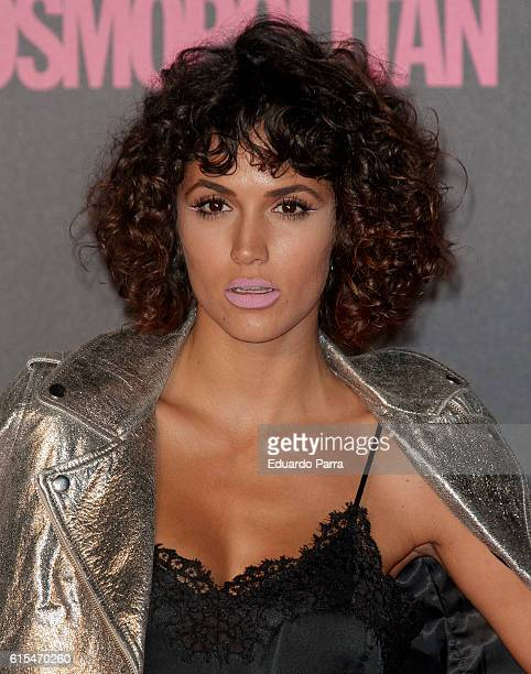 Actress Michelle Calvo attends the 'Cosmopolitan Fun Fearless Female' awards 2016 at La Riviera Disco on October 18 2016 in Madrid Spain
