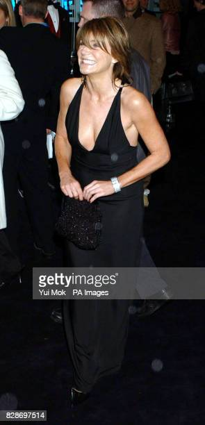 Actress Michelle Collins arriving for the UK premiere of The Matrix Reloaded at the Odeon cinema in London's Leicester Square