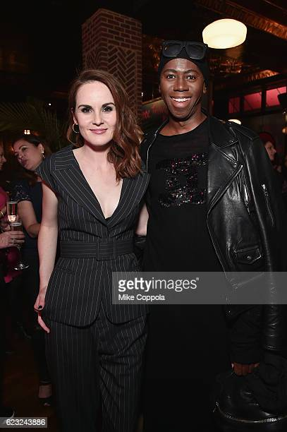 Actress Michelle Dockery and J Alexander attend the 'Good Behavior' NYC Premiere at Roxy Hotel on November 14 2016 in New York City 26491_001