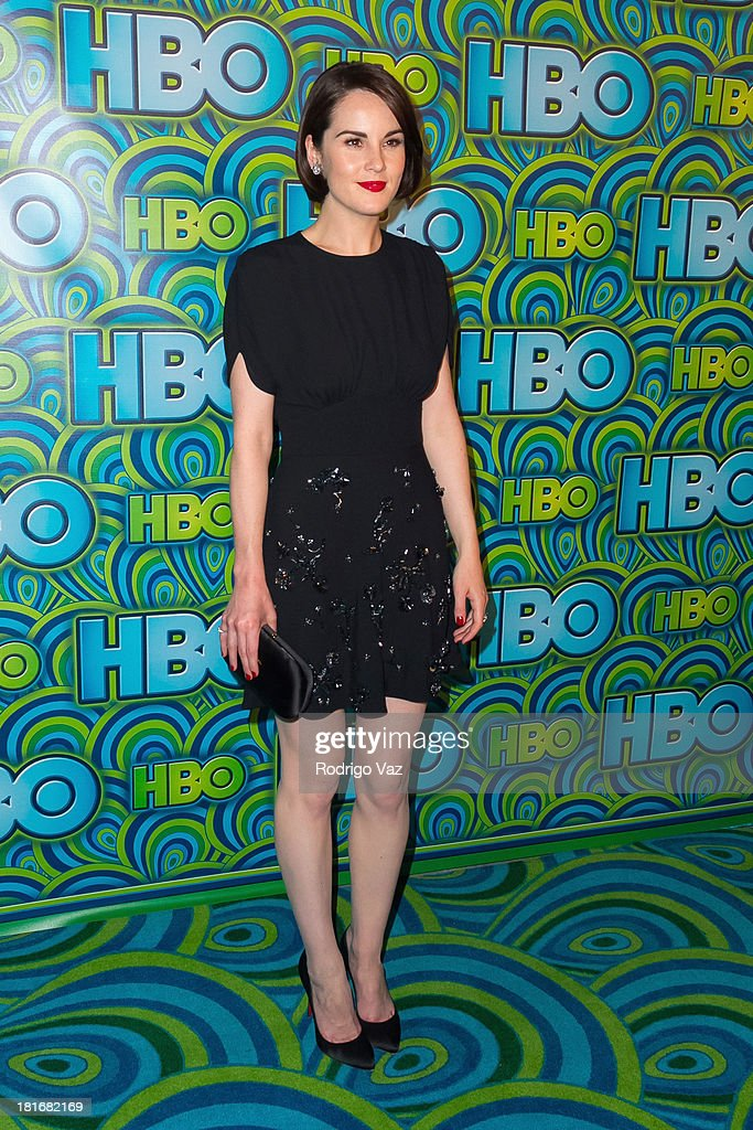 Actress Michelle Dockery arrives at HBO's Annual Primetime Emmy Awards Post Award Reception at The Plaza at the Pacific Design Center on September 22, 2013 in Los Angeles, California.