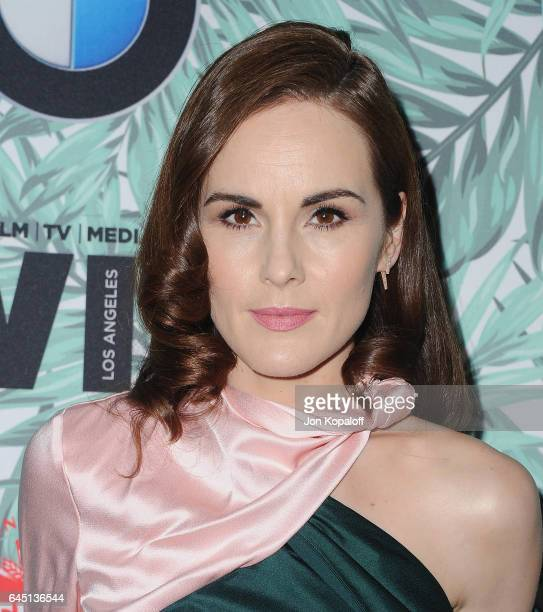 Actress Michelle Dockery arrives at the 10th Annual Women In Film PreOscar Cocktail Party at Nightingale Plaza on February 24 2017 in Los Angeles...