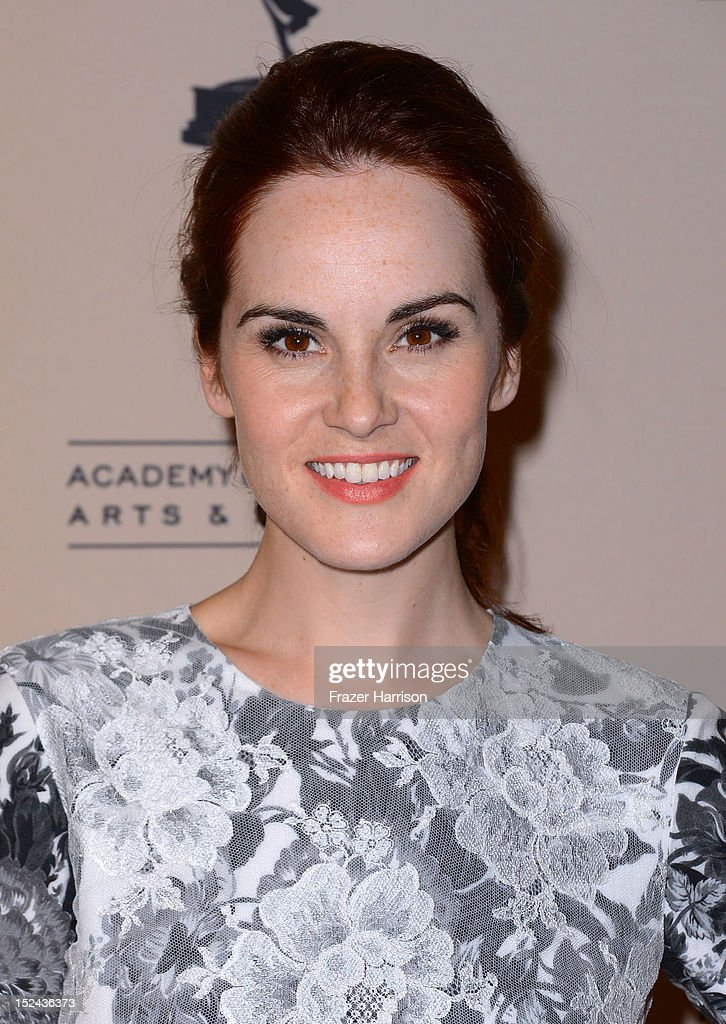 Actress Michelle Dockery arrives at The Academy Of Television Arts & Sciences Writer Nominees' 64th Primetime Emmy Awards Reception at Academy of Television Arts & Sciences on September 20, 2012 in North Hollywood, California.