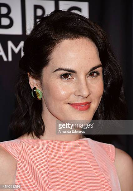 Actress Michelle Dockery arrives at the BAFTA Los Angeles TV Tea presented by BBC and Jaguar at SLS Hotel on August 23 2014 in Beverly Hills...