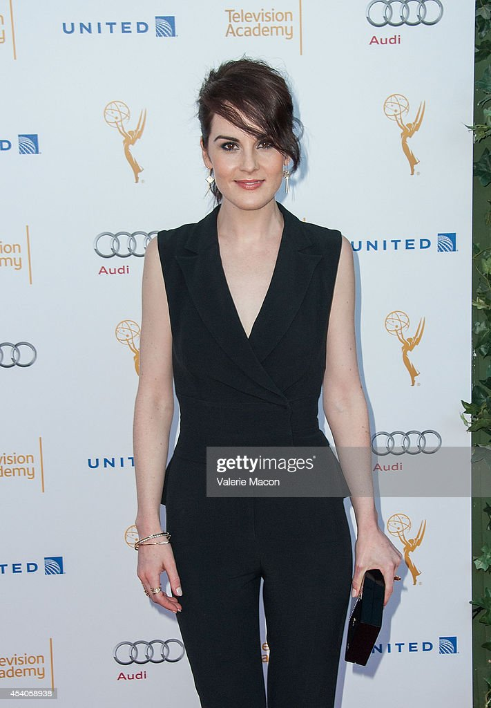 Actress <a gi-track='captionPersonalityLinkClicked' href=/galleries/search?phrase=Michelle+Dockery&family=editorial&specificpeople=4047702 ng-click='$event.stopPropagation()'>Michelle Dockery</a> arrives at the Television Academy's 66th Annual Emmy Awards Performers Nominee Reception at Spectra by Wolfgang Puck at the Pacific Design Center on August 23, 2014 in West Hollywood, California.