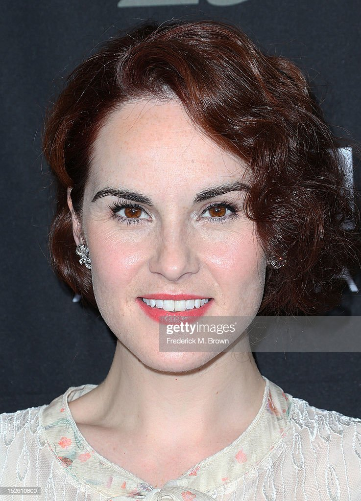 Actress Michelle Dockery attends BAFTA LA TV Tea 2012 Presented By BBC America at The London Hotel Hollywood on September 22, 2012 in West Hollywood, California.