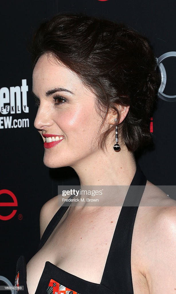 Actress Michelle Dockery attends Entertainment Weekly Screen Actors Guild Awards Pre-Party at Chateau Marmont on January 26, 2013 in Los Angeles, California.