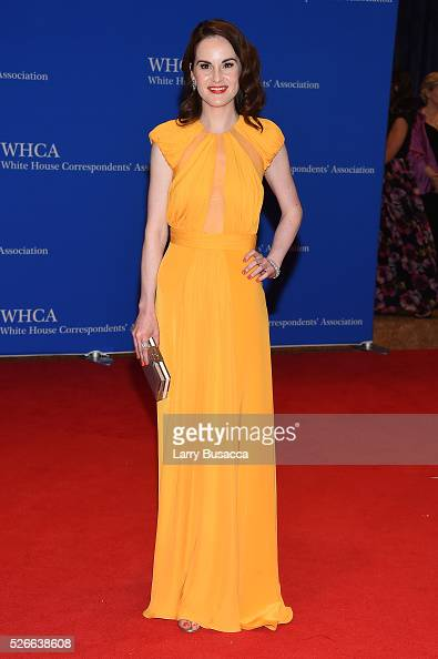 Actress Michelle Dockery attends the 102nd White House Correspondents' Association Dinner on April 30 2016 in Washington DC