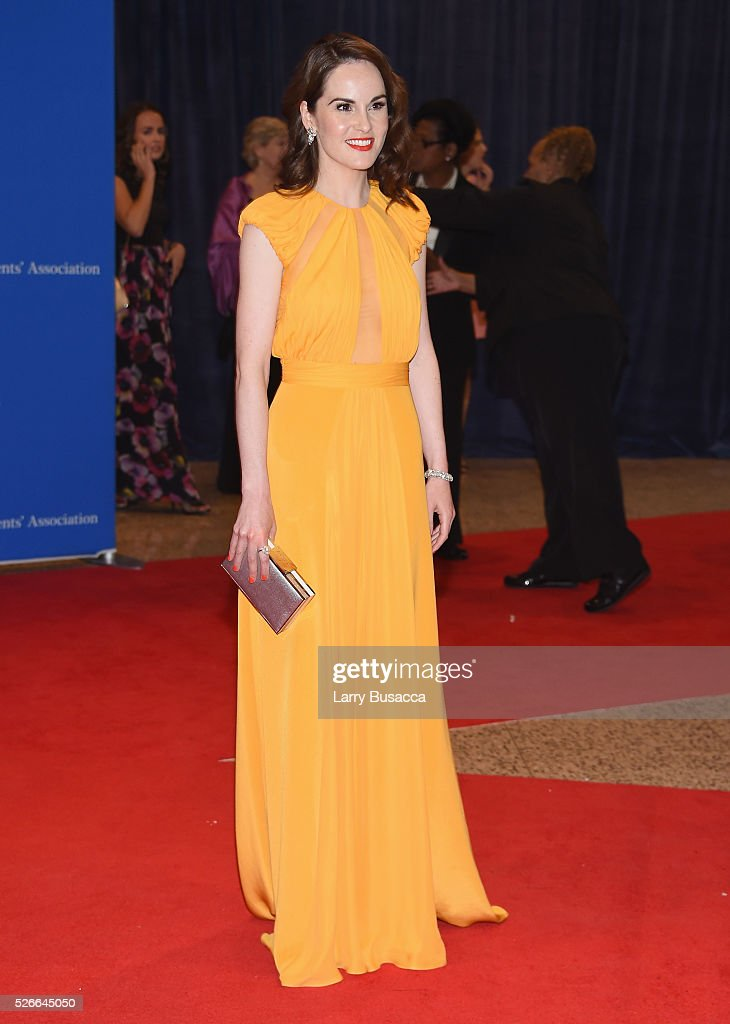 Actress Michelle Dockery attends the 102nd White House Correspondents' Association Dinner on April 30, 2016 in Washington, DC.