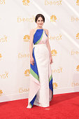 Actress Michelle Dockery attends the 66th Annual Primetime Emmy Awards held at Nokia Theatre LA Live on August 25 2014 in Los Angeles California