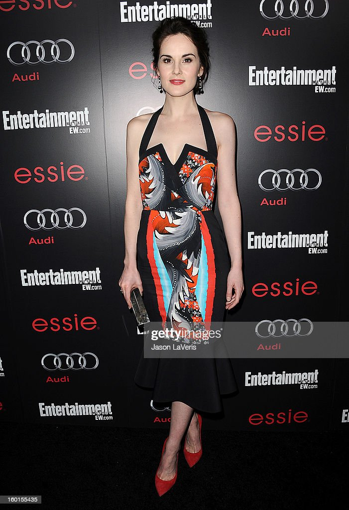 Actress Michelle Dockery attends the Entertainment Weekly Screen Actors Guild Awards pre-party at Chateau Marmont on January 26, 2013 in Los Angeles, California.