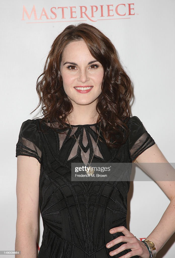 Actress <a gi-track='captionPersonalityLinkClicked' href=/galleries/search?phrase=Michelle+Dockery&family=editorial&specificpeople=4047702 ng-click='$event.stopPropagation()'>Michelle Dockery</a> attends the Masterpiece Classic 'Downton Abbey, Season 3' panel during day 1 of the PBS portion of the 2012 Summer TCA Tour held at the Beverly Hilton Hotel on July 21, 2012 in Beverly Hills, California.