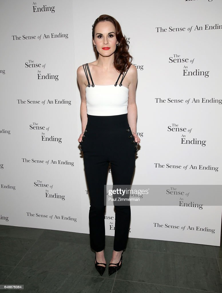 Actress Michelle Dockery attends 'The Sense Of An Ending' New York Screening at The Museum of Modern Art on March 6, 2017 in New York City.
