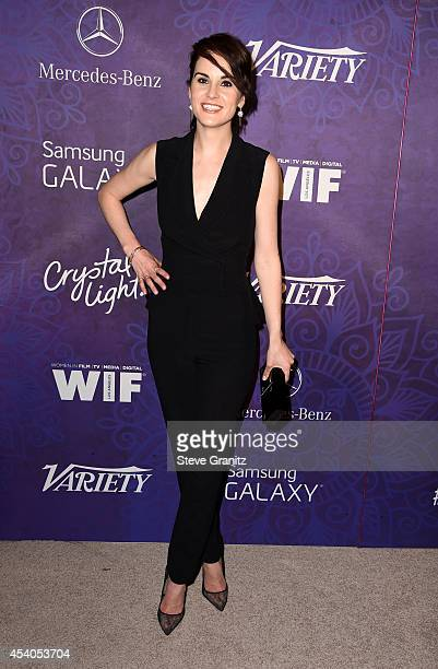 Actress Michelle Dockery attends Variety and Women in Film Annual PreEmmy Celebration at Gracias Madre on August 23 2014 in West Hollywood California