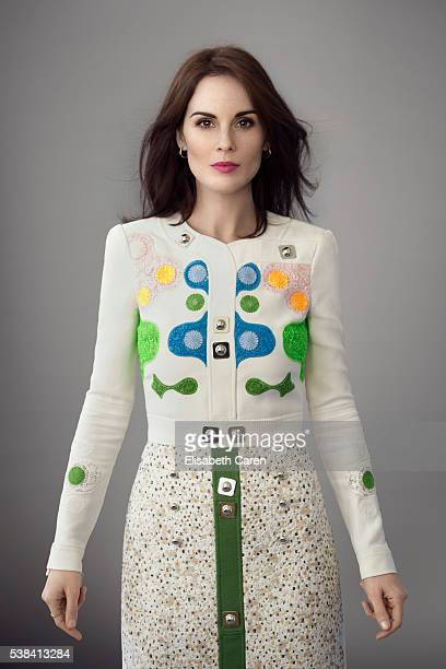 Actress Michelle Dockery is photographed for Emmy Magazine on December 15 2015 in Los Angeles California Photo by Elisabeth Caren/Contour by Getty...