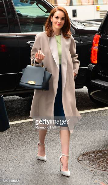 Actress Michelle Dockery is seen walking in Midtown on March 7 2017 in New York City