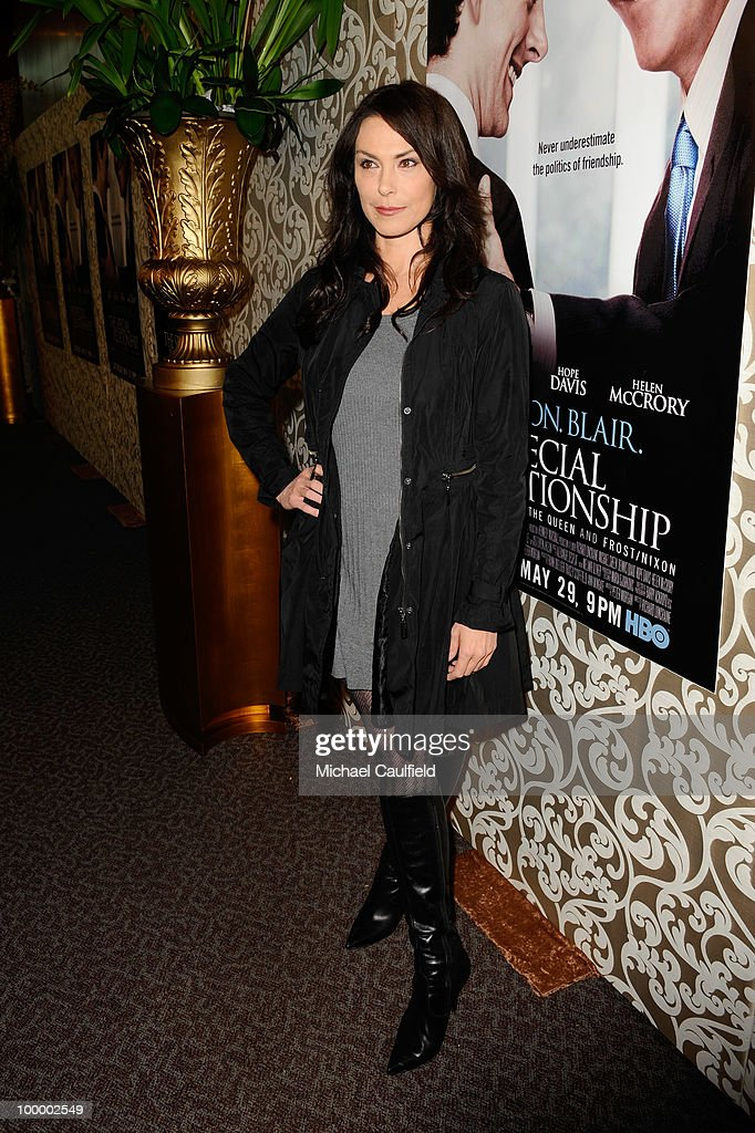 Actress Michelle Forbes attends the Los Angeles premiere of HBO Film's 'The Special Relationship' at the Directors Guild Theatre on May 19, 2010 in West Hollywood, California.