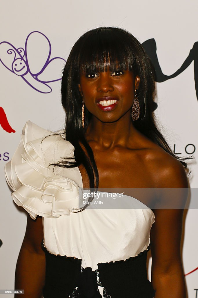 Actress Michelle Gayle arrives at the Noble Gift Gala held at the ME Hotel on December 8, 2012 in London, England.