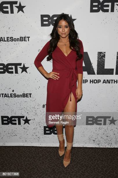 Actress Michelle Hayden attends the screening of the BET series 'Tales' at DGA Theater on June 26 2017 in Los Angeles California