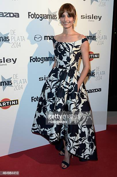 Actress Michelle Jenner attends 'Fotogramas Awards 2014' at Joy Eslava theater on March 2 2015 in Madrid Spain
