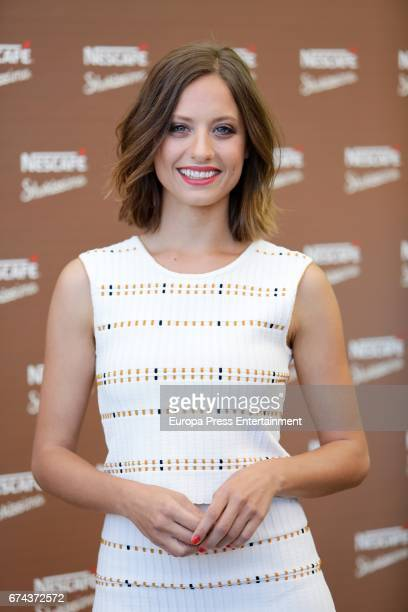 Actress Michelle Jenner attends the 'Nescafe Shakissimo' photocall at Indigo hotel on April 27 2017 in Madrid Spain