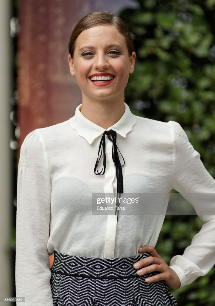 Actress Michelle Jenner attends the 'Tadeo Jones 2. El secreto del Rey Midas' photocall at the Ritz hotel on August 22, 2017 in Madrid, Spain.